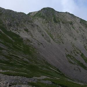 仙丈ヶ岳の頂上