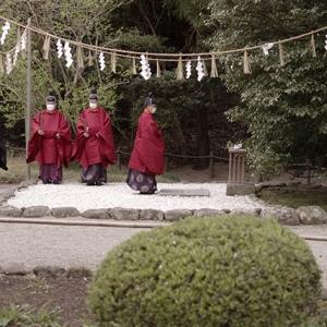 花祭りの神事