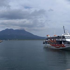 鹿児島港からトッピーで屋久島へ向かう