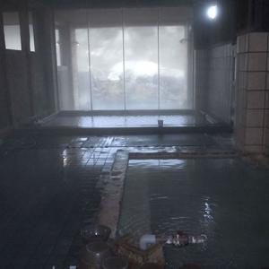 鄙びた感の有る浴場